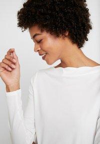 Esprit Collection - SCALLOP - Maglietta a manica lunga - off white - 3