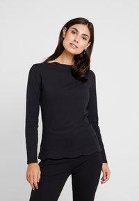 Esprit Collection - SCALLOP - Langarmshirt - black - 0