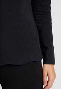 Esprit Collection - SCALLOP - Langarmshirt - black - 5