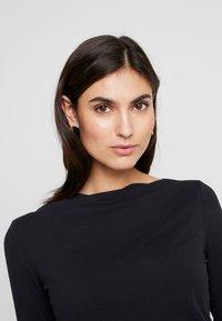 Esprit Collection - SCALLOP - Langarmshirt - black - 3