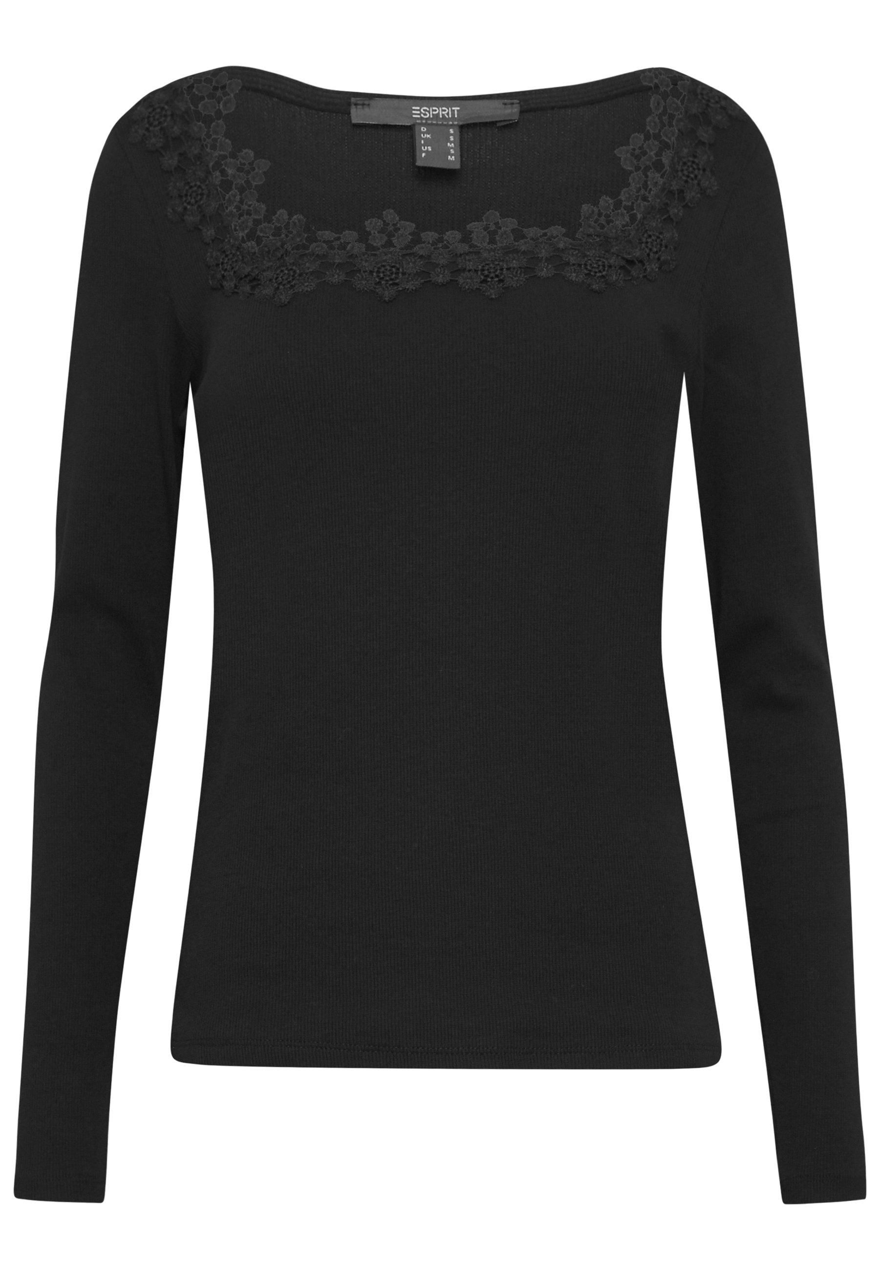 Esprit Collection Maglietta a manica lunga - black 6M7Tz5HP