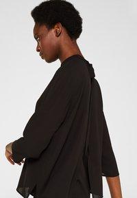 Esprit Collection - MIT LAYER DETAIL - Blouse - black - 3