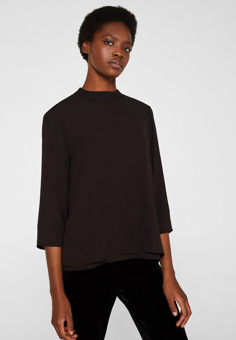 Esprit Collection - MIT LAYER DETAIL - Blouse - black