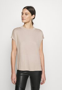 Esprit Collection - FLOW - T-Shirt basic - beige - 0