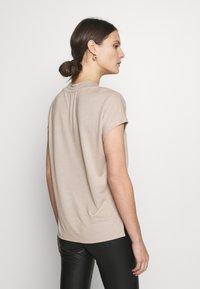 Esprit Collection - FLOW - T-Shirt basic - beige - 2