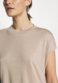 Esprit Collection - FLOW - T-Shirt basic - beige - 5