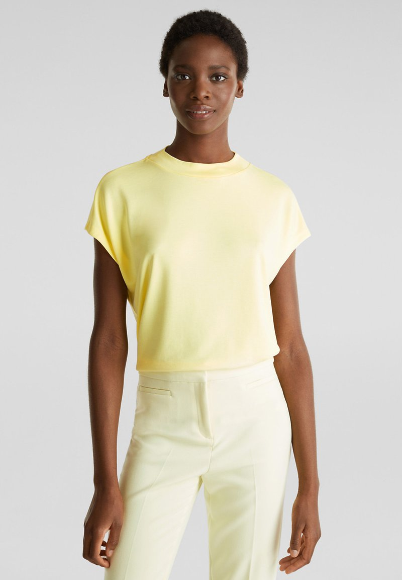 Esprit Collection - FLOW - T-Shirt basic - lime yellow