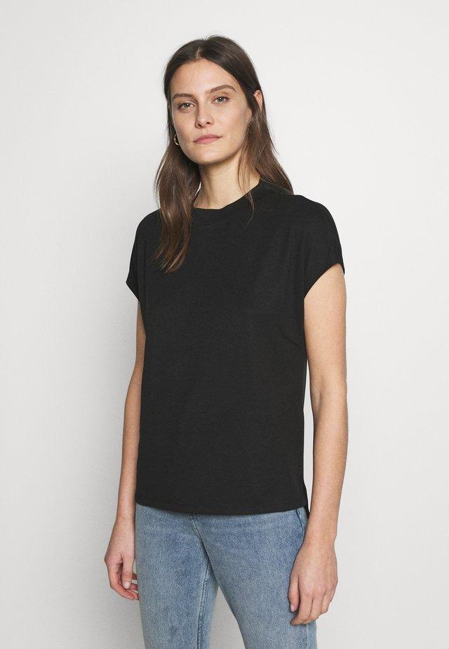 FLOW - Camiseta básica - black