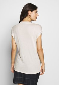 Esprit Collection - STRIPEPLACEMENT - T-Shirt print - sand - 2