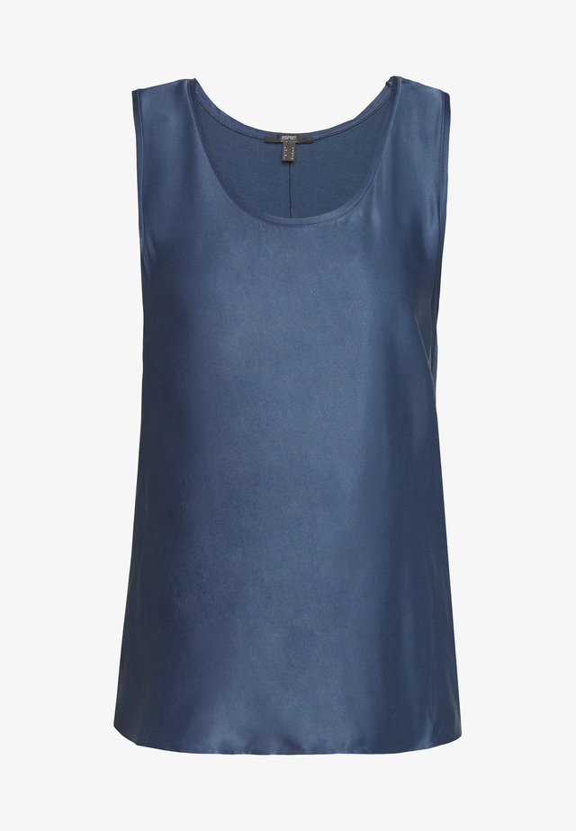 Bluzka - petrol blue