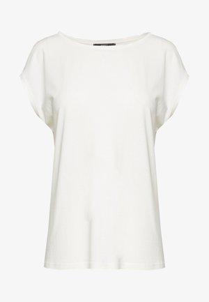 OTBSATINMIX - Basic T-shirt - off white