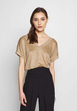 FLW LI  - T-shirt imprimé - beige