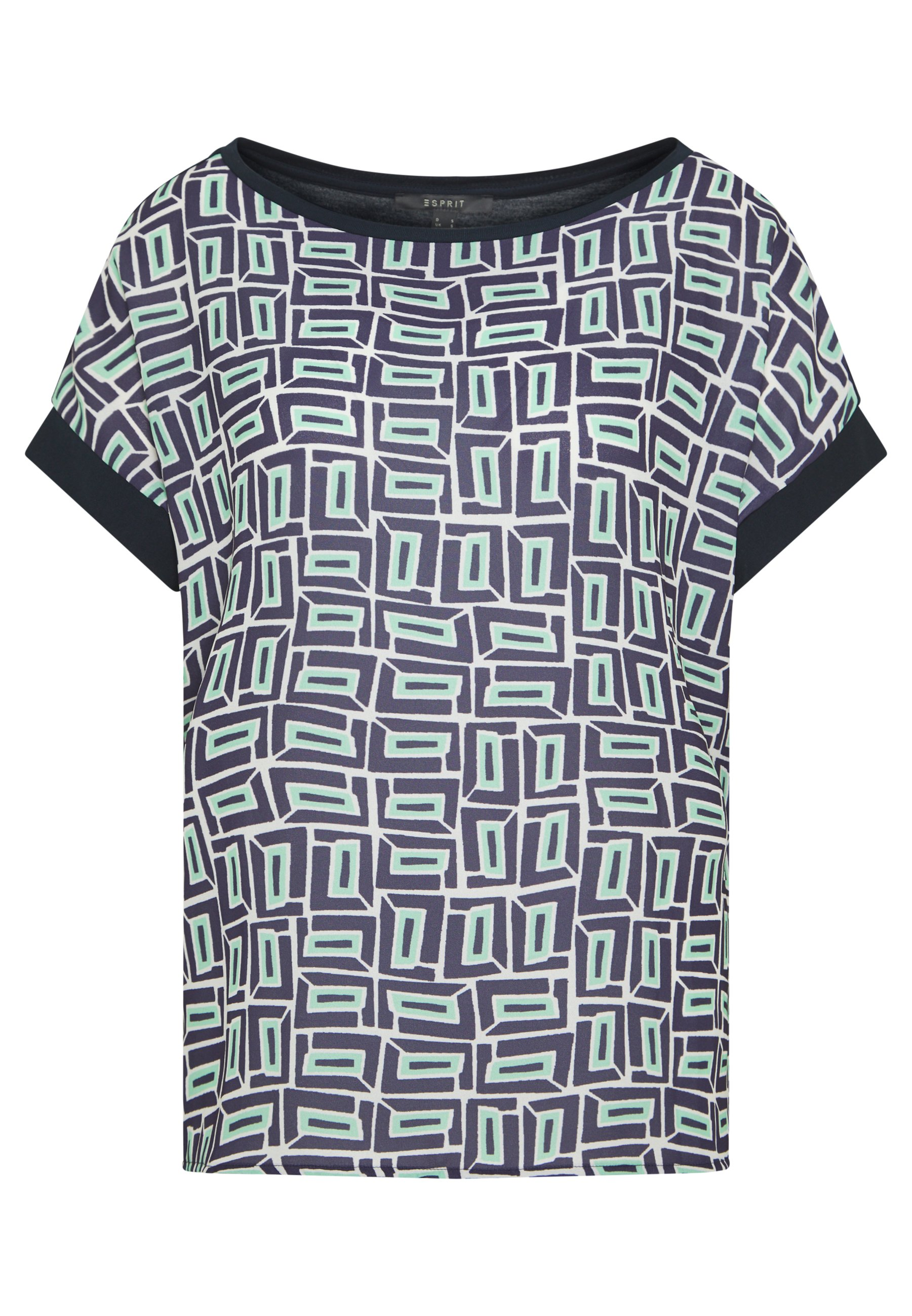 Esprit Collection COLOR BLOCK - Blouse - navy