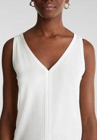 Esprit Collection - MIT SATIN-DETAILS - Top - off white - 3