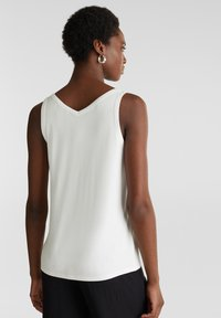 Esprit Collection - MIT SATIN-DETAILS - Top - off white - 2