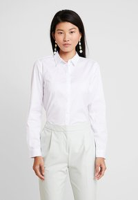 Esprit Collection - SOFT BUSINESS - Button-down blouse - white - 0
