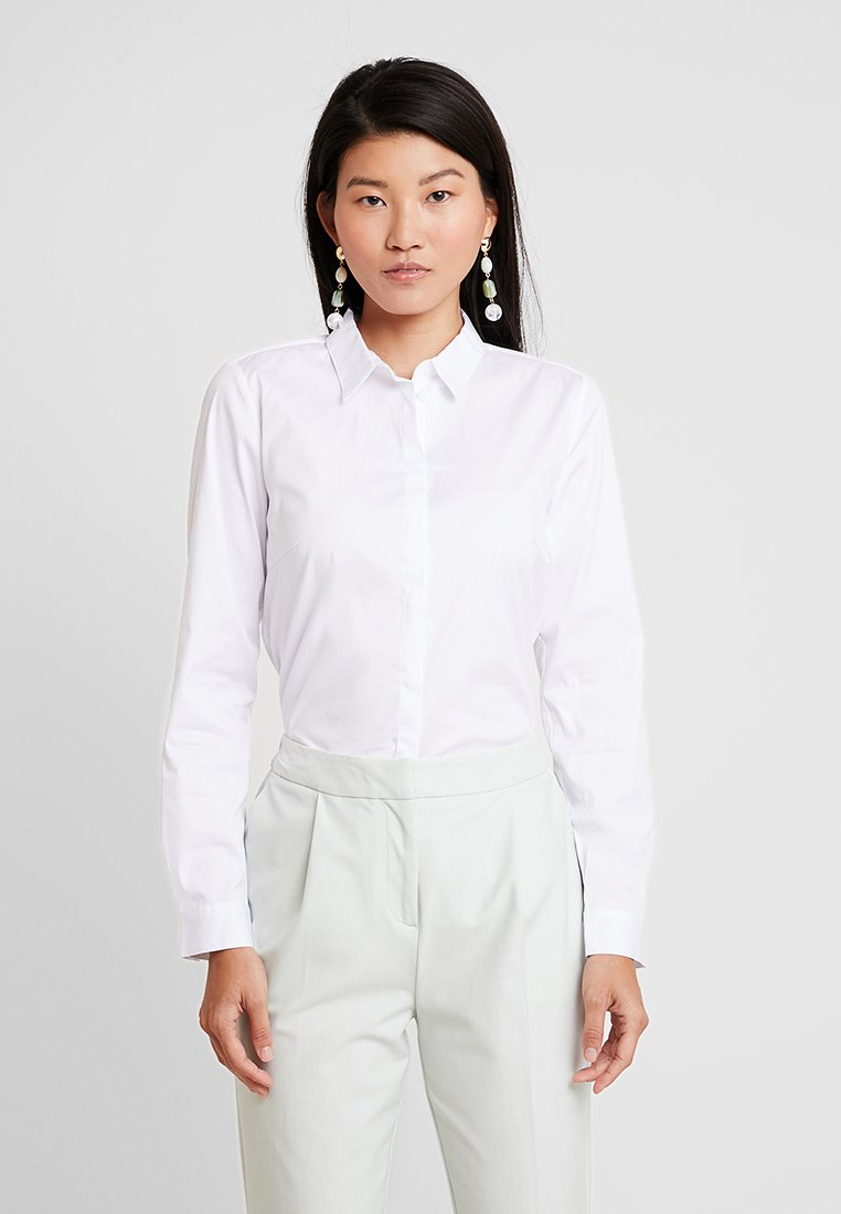 Esprit Collection - SOFT BUSINESS - Button-down blouse - white