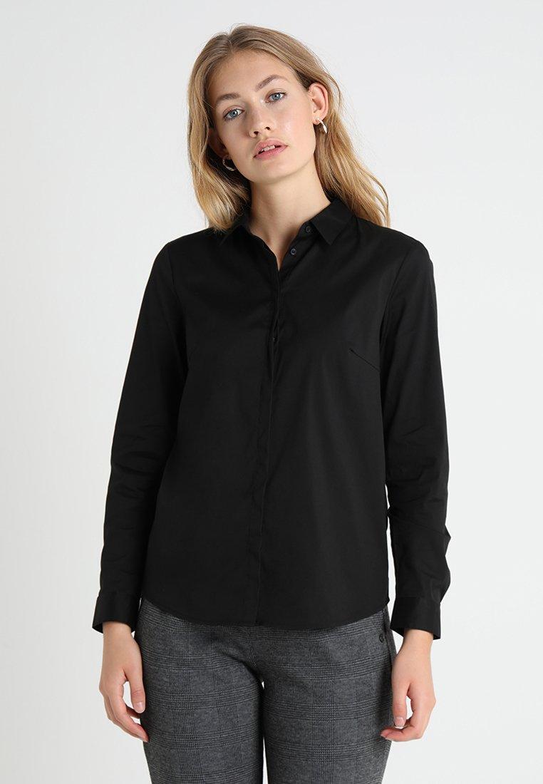 Esprit Collection - SOFT BUSINESS - Skjortebluser - black