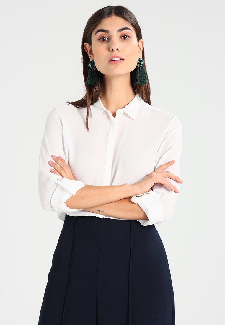 White EssentialChemisier Collection New Esprit Off kPuTOZXi