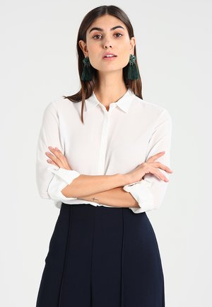 NEW ESSENTIAL - Button-down blouse - off white