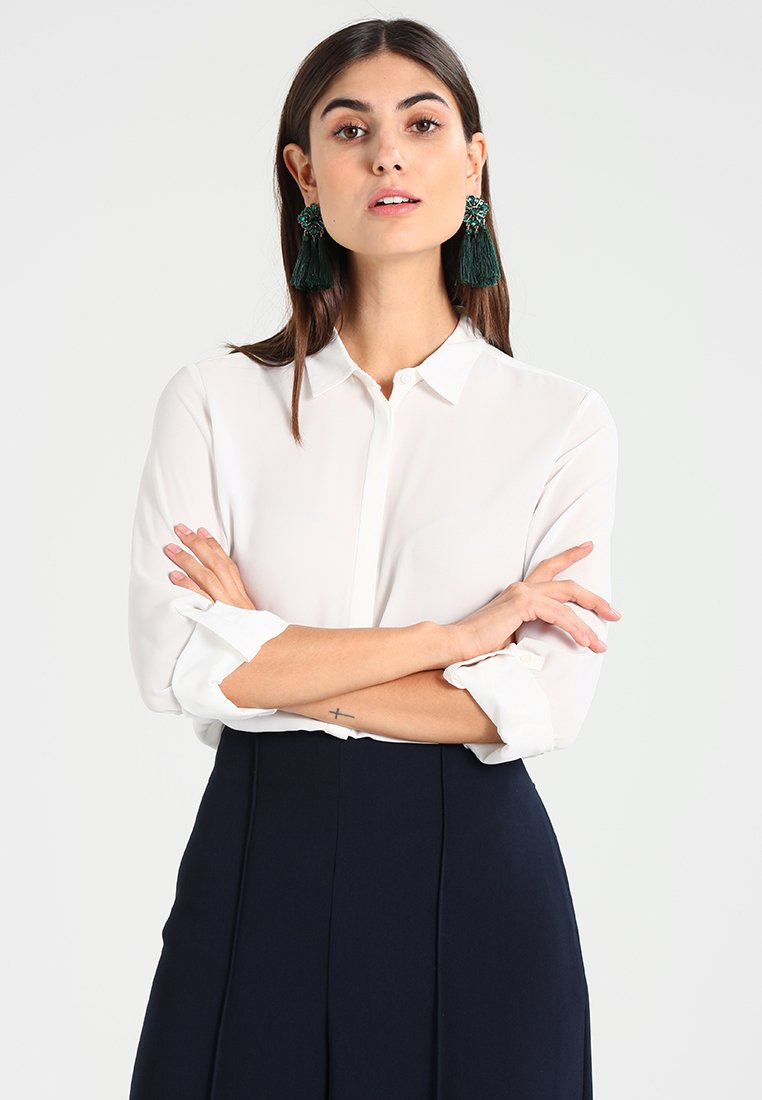 Esprit Collection - NEW ESSENTIAL - Button-down blouse - off white