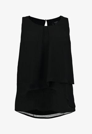 FLOW - Bluse - black