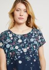 Esprit Collection - FLOWER - Bluse - navy
