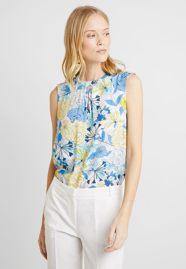 FLOATY SHINE - Blusa - off white