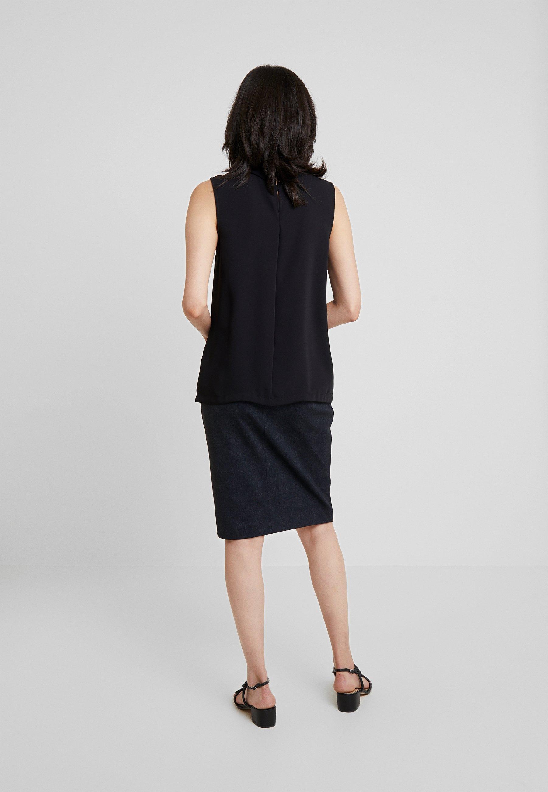 New Esprit DullBlouse Collection Black QrxBoedWC