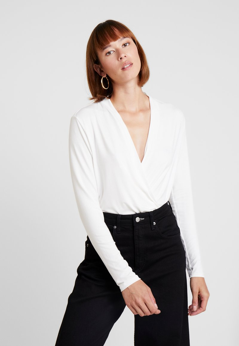 Esprit Collection - WRAP - Long sleeved top - off white