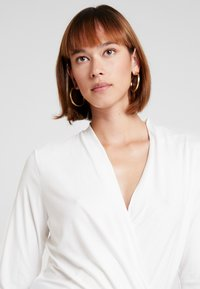 Esprit Collection - WRAP - Long sleeved top - off white - 3