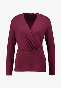 Esprit Collection - WRAP - Long sleeved top - garnet red - 3