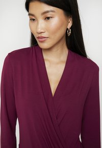 Esprit Collection - WRAP - Long sleeved top - garnet red - 4