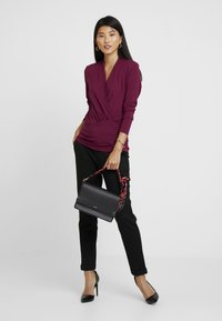 Esprit Collection - WRAP - Long sleeved top - garnet red - 1