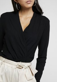 Esprit Collection - WRAP - Long sleeved top - black - 4