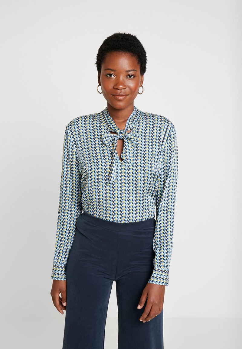 Esprit Collection - SHINY - Blusa - dusty green