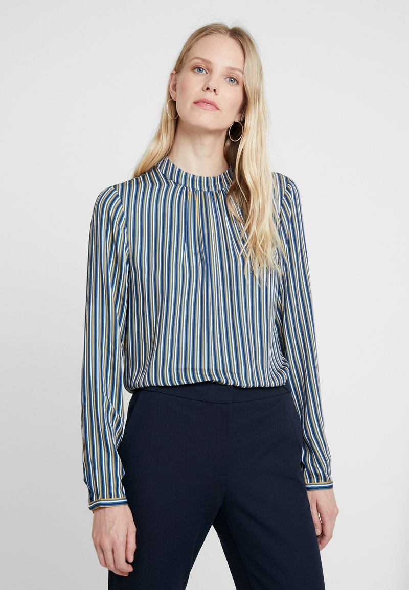 Esprit Collection - SHINY - Bluse - petrol blue