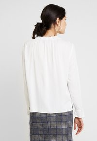 Esprit Collection - RUFFLE NECK - Blouse - off white - 2