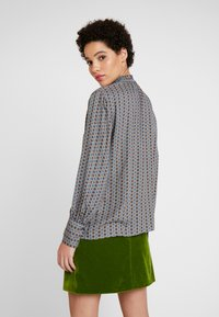 Esprit Collection - SMOCK NECK - Bluzka - blue - 2