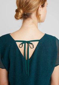 Esprit Collection - SOFT GLITTER - Bluse - dark teal green - 4