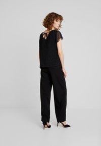Esprit Collection - SOFT GLITTER - Blouse - black - 2