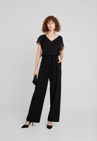 Esprit Collection - SOFT GLITTER - Blouse - black - 1
