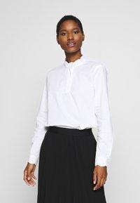 Esprit Collection - SCALLOP EDGE - Blůza - white - 0