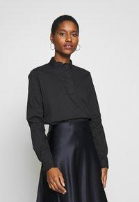 Esprit Collection - SCALLOP EDGE - Blouse - black - 0