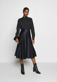 Esprit Collection - SCALLOP EDGE - Blouse - black - 1