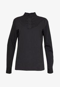 Esprit Collection - SCALLOP EDGE - Blouse - black - 3