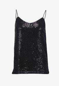 Esprit Collection - SEQUINS - Top - black - 4