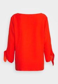 Esprit Collection - MATT SHINY - Bluse - red orange - 1