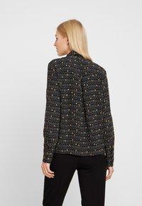 Esprit Collection - COLLAR BOW - Košile - black - 2
