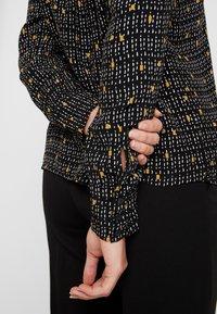 Esprit Collection - COLLAR BOW - Košile - black - 3
